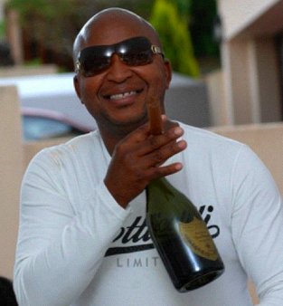 kenny kunene south africa millionaire