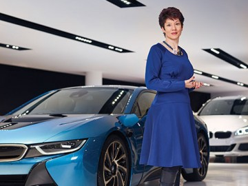 Talita Ferreira BMW UK Chief Financial Officer South Africa
