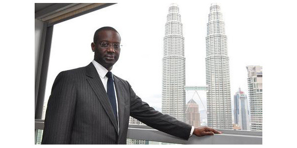 Tidjane Thiam CEO Credit Suisse South Africa