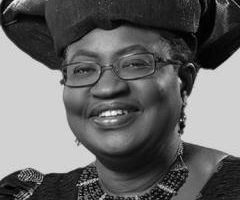 Ngozi Okonjo-Iweala Senior Adviser at Lazard and Chair of the Global Alliance for Vaccines and Immunization, Nigeria