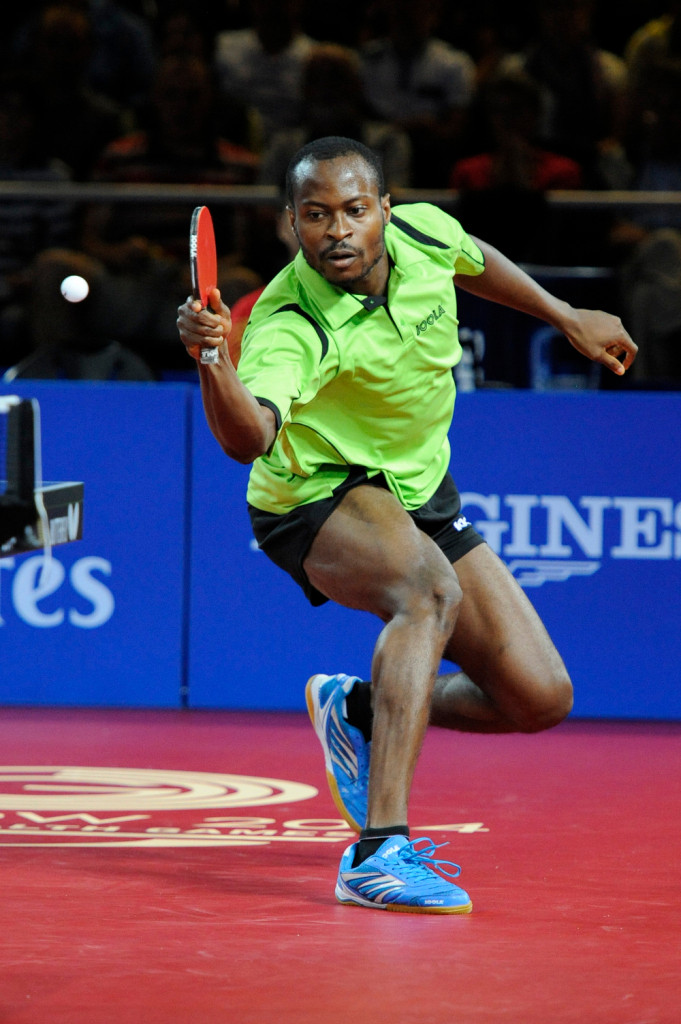 Bose Kaffo Nigeria Table Tennis Player African
